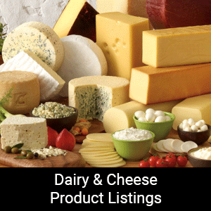Dairy & Cheese Product Listings
